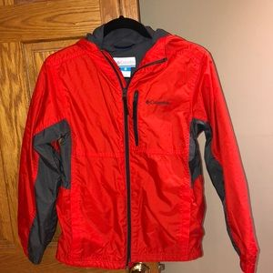 Boys Columbia rain jacket